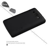 Чехол Nillkin Frosted для LG X135/X145 L60 Dual черный (+пленка)