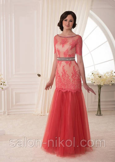 Вечернее, выпускное платье V-038