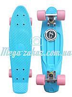 Скейтборд/скейт Penny Board (Пенни борд): Sky Collection, до 80кг