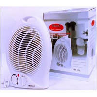 Тепловентилятор Wimpex FAN HEATER WX-425, тепловентилятор электрический для дома