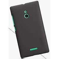 Чехол Nillkin Frosted для Nokia XL черный (+пленка)