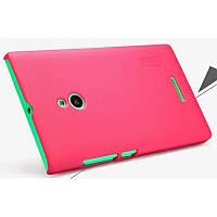 Чехол Nillkin Frosted для Nokia XL красный (+пленка)