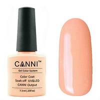 Гель-лак CANNI №062 (бледно-персиковый ,эмаль), 7.3 мл