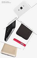 Чехол Nillkin Frosted для Samsung G7200 Galaxy Grand 3  черный (+пленка)