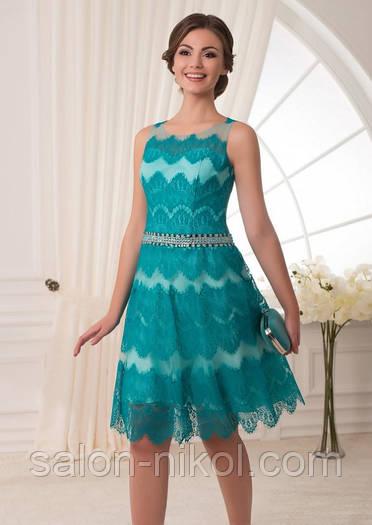 Вечернее, выпускное платье V-042