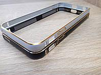 Бампер металлический с гравировкой для Apple iPhone 5/5s