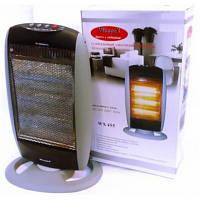 Галогенный инфракрасный обогреватель Wimpex QUARTZ HEATER WX-455, обогреватель электрический