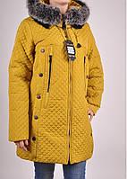 Пальто женское стеганное