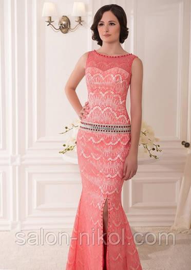 Вечернее, выпускное платье V-043