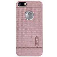 Чехол Nillkin Frosted для Apple iPhone 5/5S/SE розовый (+пленка)
