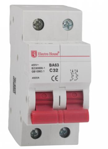 Автоматический выключатель Electro House EH-2.40