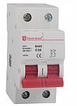Автоматический выключатель Electro House EH-2.50  (2 полюса 50А)