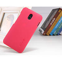 Чехол Nillkin Frosted для HTC Desire 210 розовый (+пленка)