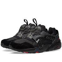 Оригинальные  кроссовки Puma x Crossover Disc Blaze Black & Rose Red