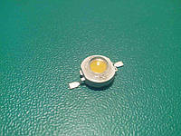 Світлодіод 1 Вт теплий білий, LED W 1, фото 1