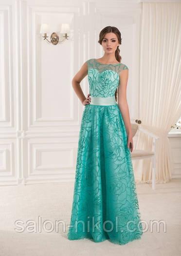 Вечернее, выпускное платье V-045