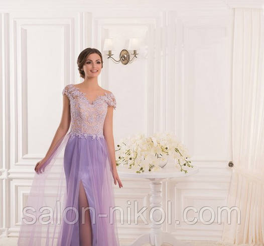 Вечернее, выпускное платье V-046