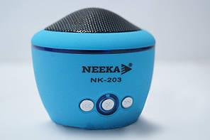 Колонка NK-203 с функцией Bluetooth