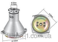 Редуктор верхний для мотокос, 7 шлицов, D трубы - 26 мм, D муфты - 78 мм