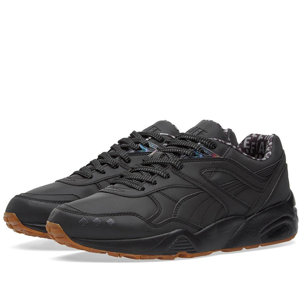 ac86b6e799cc Оригинальные кроссовки Puma x Alife R698 Reflective Black   Gum -  Sport-Sneakers - Оригинальные