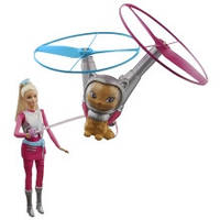 Click to open expanded view Barbie Star Light Galaxy Barbie Doll & Flying Cat