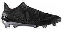 Футбольные бутсы Adidas X 16+ Pure Chaos FG (адидас) черные