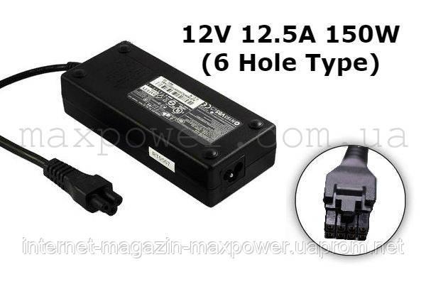 Блок питания для ноутбука Dell 12V 12.5A 150W (6 Hole type) D220P-01 GX620 SX280