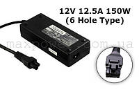 Блок питания для ноутбука Dell 12V 12.5A 150W (6 Hole type) D220P-01 GX620 SX280, фото 1