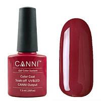 Гель-лак CANNI №027 (темно-красный), 7.3 мл