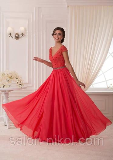 Вечернее, выпускное платье V-051