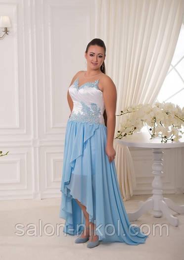 Вечернее, выпускное платье V-055