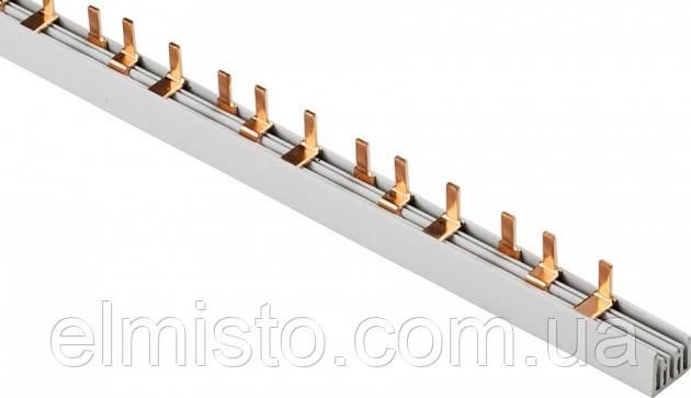 Соединительная шина гребенка 3ф PIN 3х100 мед. изол. 54мод (дл.1м) трехполюсная для автоматов