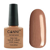 Гель-лак CANNI №095 (шоколадный, эмаль), 7.3 мл