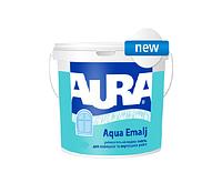 Эмаль акриловая AURA AQUA EMALJ универсальная, 0,75л