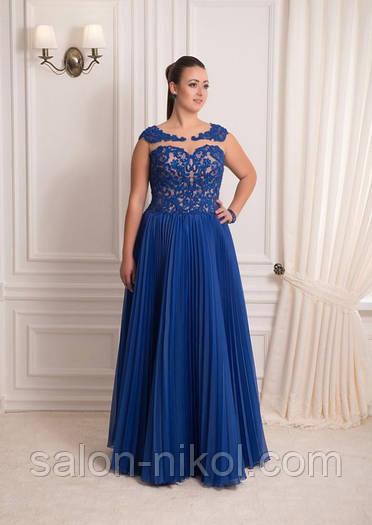 Вечернее, выпускное платье V-063