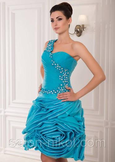Вечернее, выпускное платье V-029
