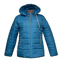 Куртка женская голубая куртки зимние женские интернет магазин  K225