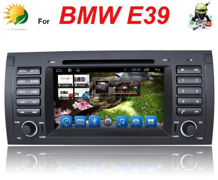 Штатное головное устройство магнитола BMW E39, BMW E53