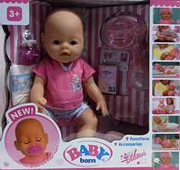 "Кукла-пупс Беби Борн ""Baby Born"" 8009, 9 функций, 9 аксессуаров, Baby"