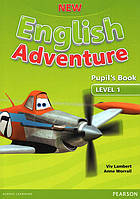 New English Adventure. Level 1 Pupil's book+DVD