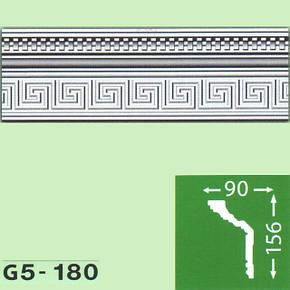 Плинтус потолочный G5-180, фото 2