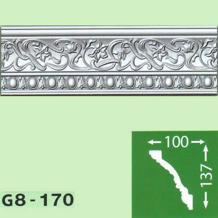 Плинтус потолочный G8-170, фото 2