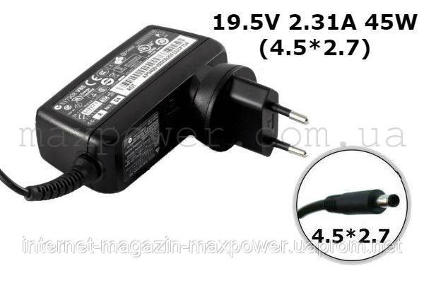 Блок питания для ноутбука Dell 19.5V 2.31A 45W (4.5*2.7) PA-1450 9020M XPS 11