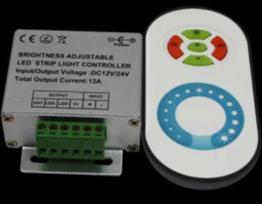 Диммер для светодиодной ленты 8А (пульт сенсорный)
