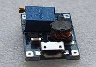 Повышающий преобразователь буст модуль 2-24В в 5-28В micro USB