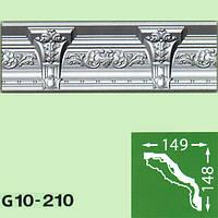 Плинтус потолочный G10-210