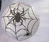 Шар-декор на Хеллоуин Паутина с пауками
