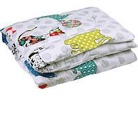 """Детское силиконовое одеяло """"CAT """" Руно™ 110/140см"""