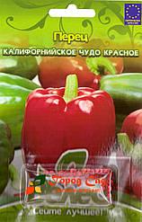 Семена перца сладкого Калифорнийское чудо красное 50шт ТМ ВЕЛЕС