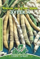 Семена фасоли на сухое зерно Эурека 20г ТМ ВЕЛЕС
